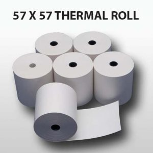 CBE Thermal Till Roll 57 x 57 (Box of 20 Rolls)