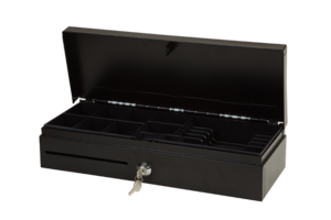 INT Flip Top Cash Drawer (Black)